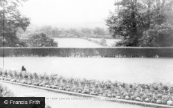 Limpsfield, View From Caxton Convalescent Home c.1965