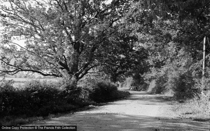 Photo of Limpsfield, Water Lane 1957