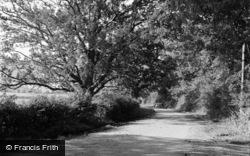 Limpsfield, Water Lane 1957