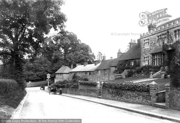 Photo of Limpsfield, Wolfes Row 1906