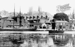 Brayford Pool 1890, Lincoln