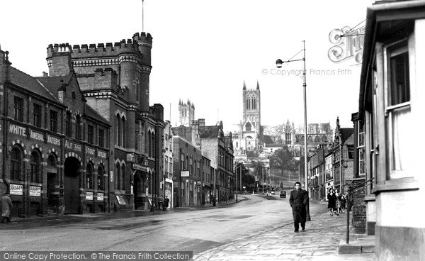 Lincoln, Broadgate c.1950