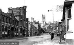 Lincoln, Broadgate c.1950
