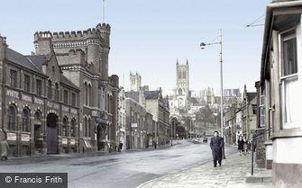 Lincoln, Broadgate c1950