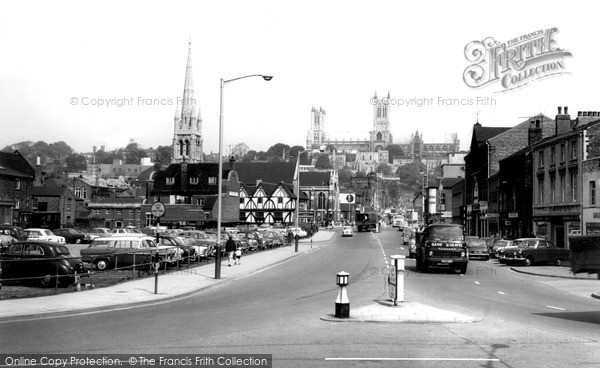Photo of Lincoln, Broadgate c.1960
