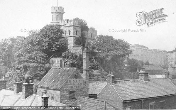 Photo of Lincoln, Castle 1890
