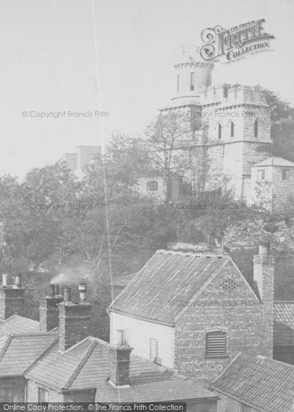 Photo of Lincoln, Castle c.1879