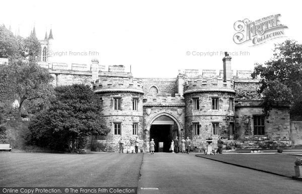 Photo of Lincoln, Castle Gates c.1955