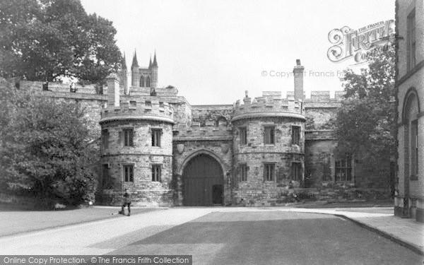 Photo of Lincoln, Castle Gateway c.1950