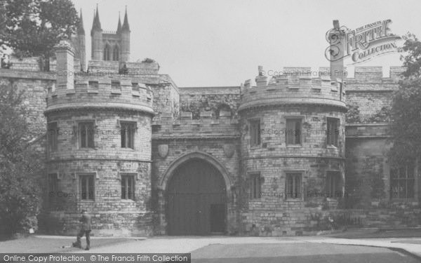 Photo of Lincoln, Castle Gateway c.1950
