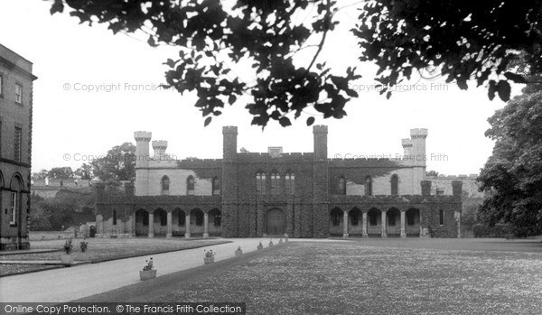 Photo of Lincoln, Castle Grounds c.1955
