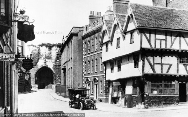 Lincoln, Castle Hill c1920