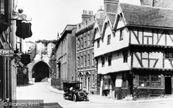 Lincoln, Castle Hill c.1920