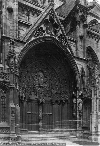 Photo of Lincoln, Cathdral, South Porch c.1879