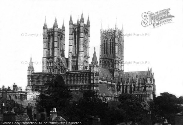 Photo of Lincoln, Cathedral 1890