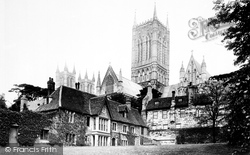 Lincoln, Cathedral 1890