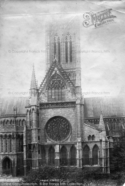 Photo of Lincoln, Cathedral 1894