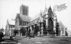 Lincoln, Cathedral 1895