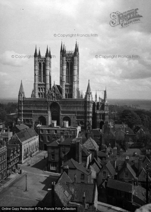 Photo of Lincoln, Cathedral 1948