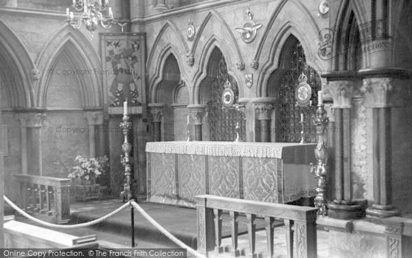 Photo of Lincoln, Cathedral, Airman's Chapel c.1955