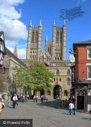 Lincoln, Cathedral And Excehquer Gate c.2007