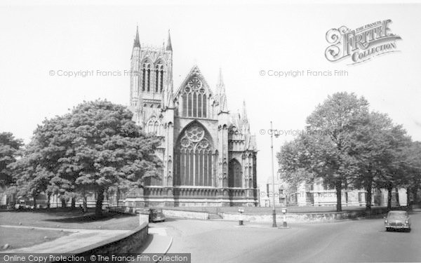Photo of Lincoln, Cathedral c.1965