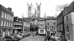 Lincoln, Cathedral c.1965