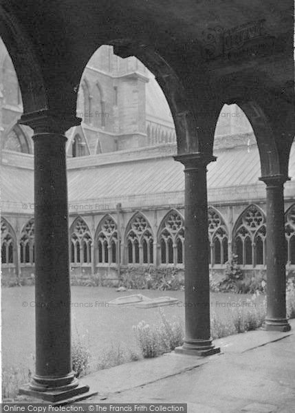 Photo of Lincoln, Cathedral, Cloisters 1890