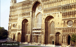 Lincoln, Cathedral, East End 1979