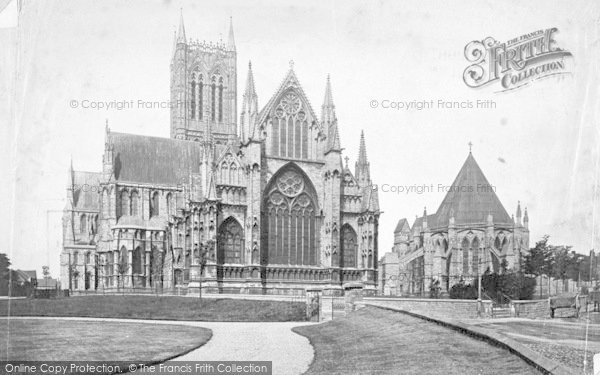 Photo of Lincoln, Cathedral, East End And Chapter House c.1879