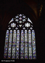 Lincoln, Cathedral, East Window 1979