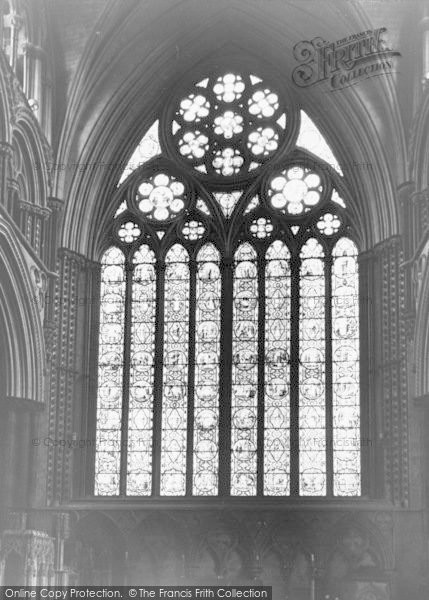 Photo of Lincoln, Cathedral, East Window c.1965