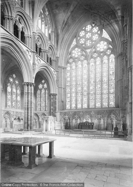 Photo of Lincoln, Cathedral, New Morning Chapel 1890