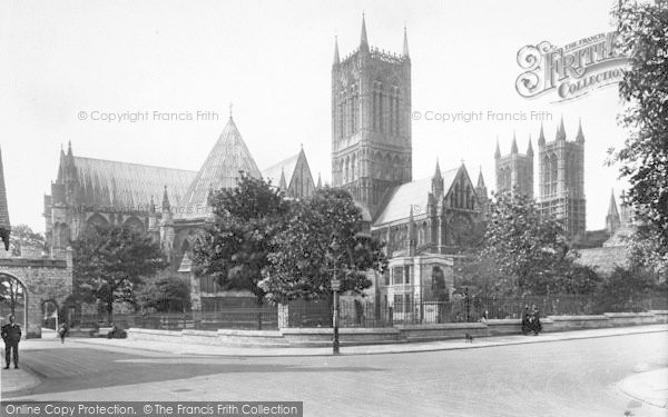 Photo of Lincoln, Cathedral, North East 1923