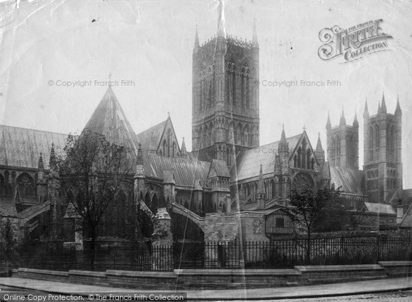 Photo of Lincoln, Cathedral, North Side 1894