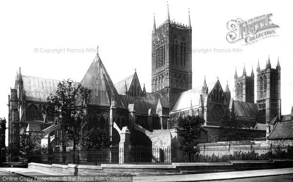 Photo of Lincoln, Cathedral, North Side 1895