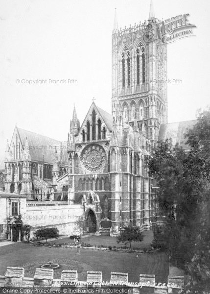 Photo of Lincoln, Cathedral, North Transept 1890