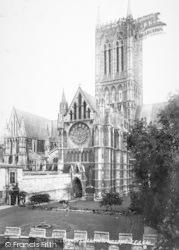 Lincoln, Cathedral, North Transept 1890
