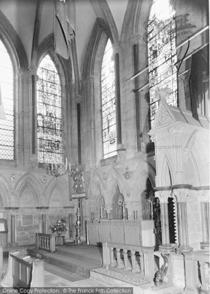 Photo of Lincoln, Cathedral, RAF Chapel c.1965