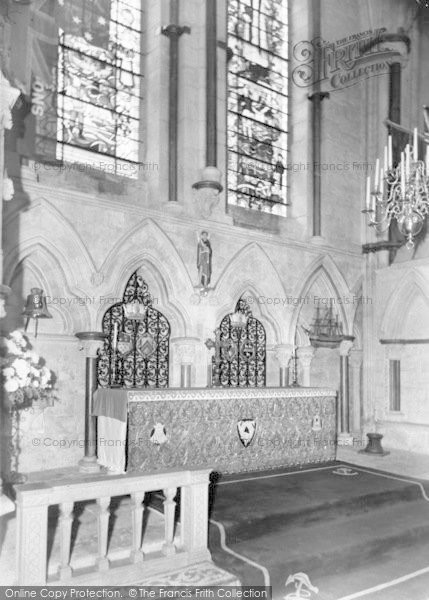 Photo of Lincoln, Cathedral, Seamen's Chapel C 1965
