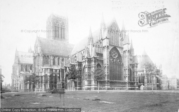 Photo of Lincoln, Cathedral, South East And Chapter House 1894