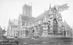Lincoln, Cathedral, South East c.1879