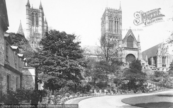 Photo of Lincoln, Cathedral, South Side 1890