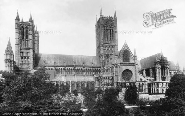Photo of Lincoln, Cathedral, South Side 1895