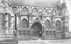 Lincoln, Cathedral, South Side Of Choir c.1879