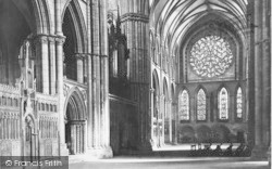 Lincoln, Cathedral, South Transept c.1879