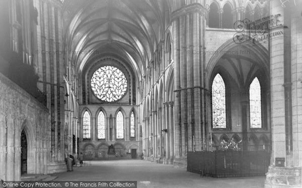 Photo of Lincoln, Cathedral, South Transept c.1965