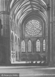 Lincoln, Cathedral, South Transept Window c.1879