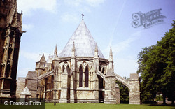 Lincoln, Cathedral, The Chapter House 1979