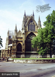 Lincoln, Cathedral, View Of East End 1979